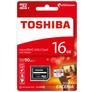Karta microSD 16 GB, klasa 10, z adapterem SD