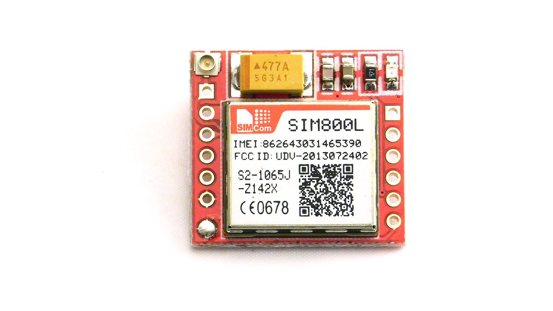 Moduł GSM GPRS SIM800L