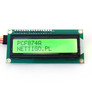 Wyświetlacz LCD 2x16 I2C zielony