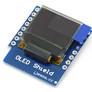 """Wyświetlacz OLED 0.66"""" I2C dedykowany do Wemos D1 mini"""