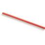 Goldpin złącze wtyk prosty 1x40 raster 2.54 mm czerwone