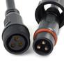 Złącze 3 pinowe, IP65 wodoodporne, z kablem 200mm