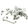 MakerBeam - Łączniki narożne srebrne, 12 szt