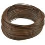 Przewód montażowy LgY 0.35 mm² brązowy