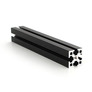 MakerBeam XL - Belka  100 mm, czarna, 1 szt