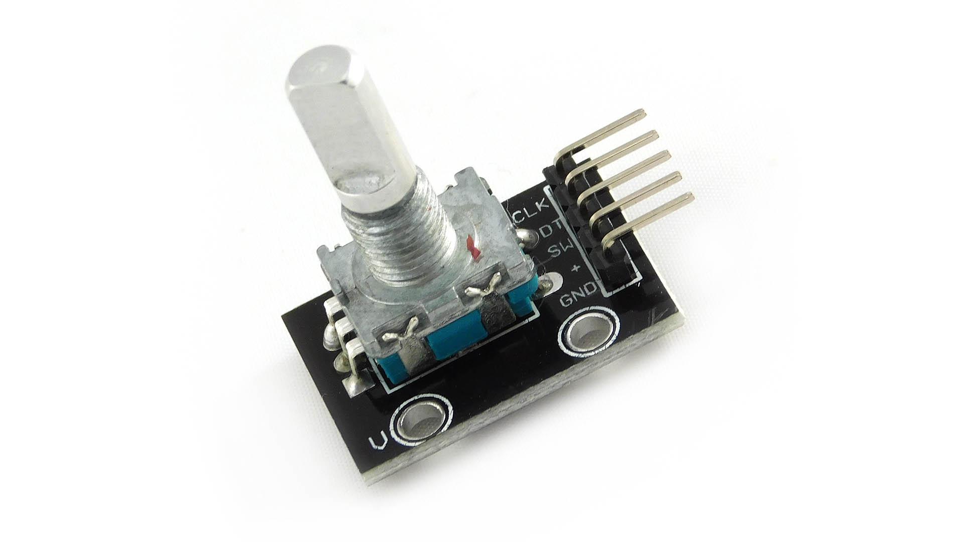 Podłączenie enkodera obrotowego