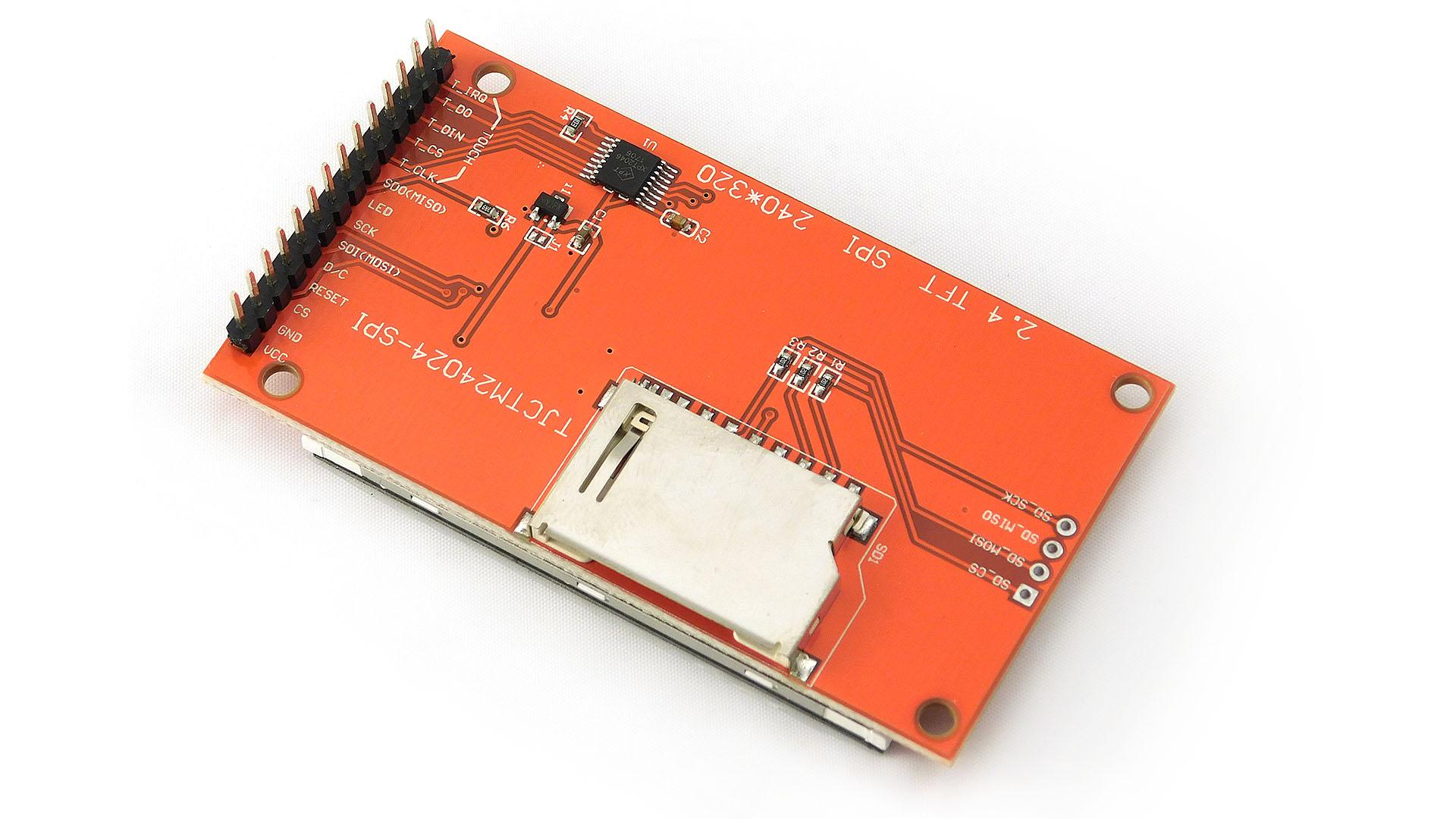 Wyświetlacz LCD TFT 2 4