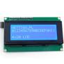 Wyświetlacz LCD 4x20, niebiesko/bialy z konwerterem I2C