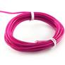 ELWIRA El Wire elastyczny 2.3 mm x 3m, ze złączem, fioletowy