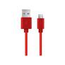 Kabel Esperanza EB177R microUSB 0.5m czerwony