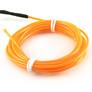 ELWIRA El Wire elastyczny 2.3 mm x 3m, ze złączem, pomarańczowy