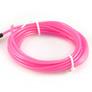 ELWIRA El Wire elastyczny 2.3 mm x 3m, ze złączem, różowy