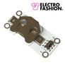 Electro-Fashion Koszyk na baterię CR2032 z włącznikiem