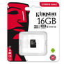 Karta microSD 16 GB, klasa 10, Kingston Canvas Select
