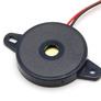 Buzzer piezoelektryczny bez generatora z przewodami