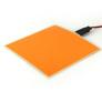 ELWIRA El Panel 10x10 cm, pomarańczowy