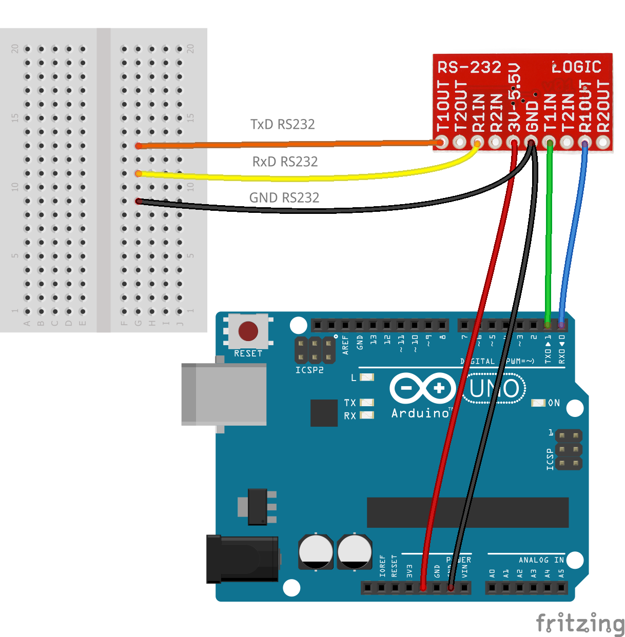 Arduino  Rs232 Level Shifter Or Rs2323 Breakout Needed